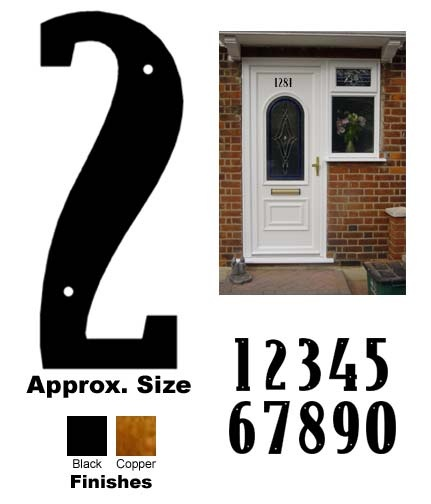 house numbers: House Numbers
