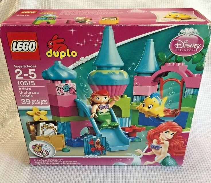 Details about Lego Duplo 10515 Ariel Undersea Castle Mermaid Disney Complete Box & InstructionNesie's Nest – Rare & Everyday Treasures
