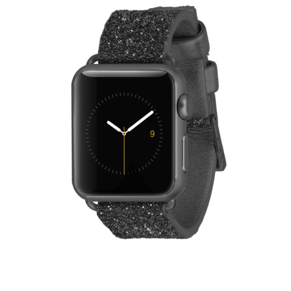 Apple Watch 38mm Black Brilliance Band from Case-mate  http://www.case-mate.com/collections/apple-watch  #Casemate #APPLEwatch