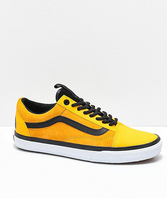 653915bf32a Vans x The North Face Old Skool MTE Yellow Shoes in 2019