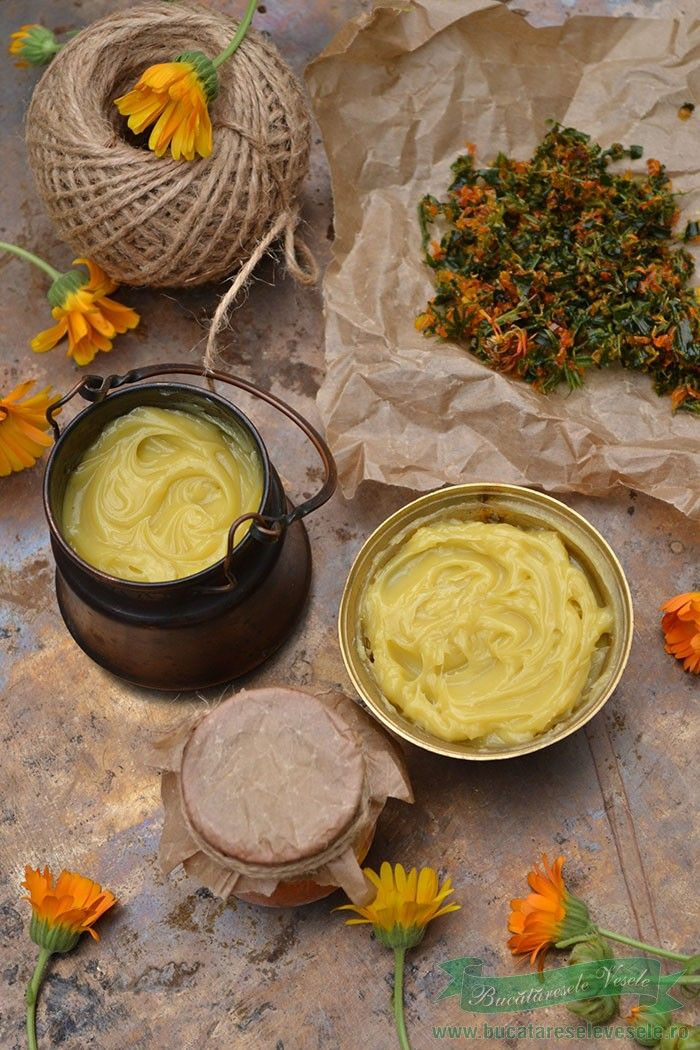 Crema de Galbenele-Alifie de Filimica.Crema din plante. Creme pentru eczeme, varice, ulcer varicos.Cum se prepara Crema de Galbenele-Alifie de Filimica.