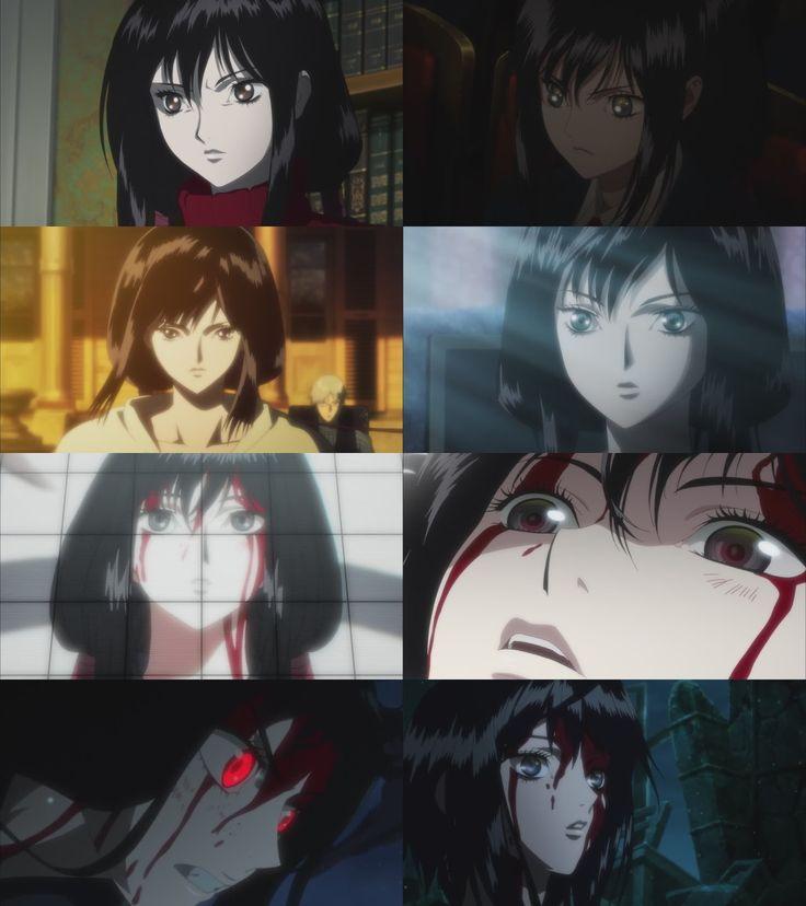 """"""" Blood-C: The Last Dark Saya's Beautiful Face Part 2 """""""