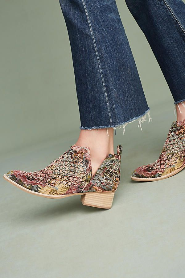 Anthropologie | Jeffrey Campbell Taggart Booties
