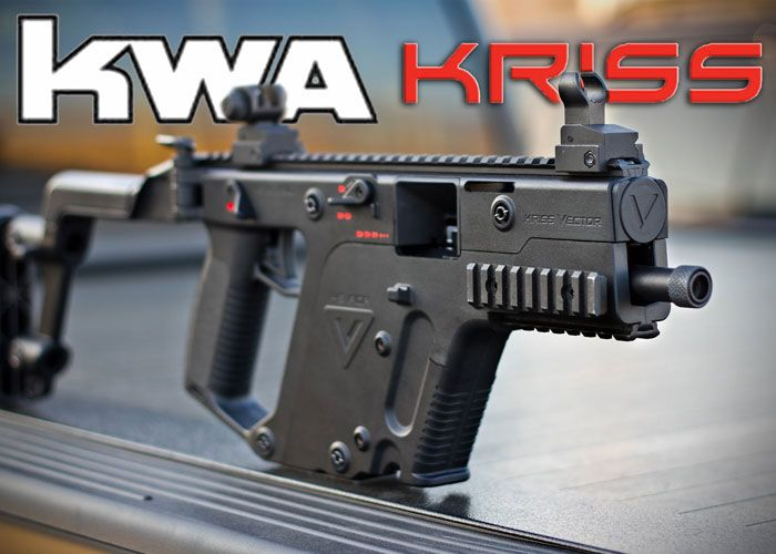 KWA To Assert Right To Sell Airsoft KRISS Vector & Related Products