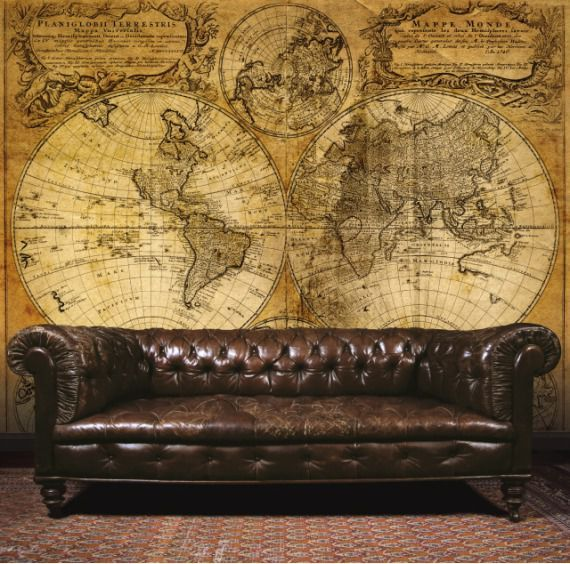 Panel Galerie Steampunk Map-Large