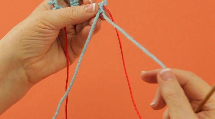 Knook™ RH: Knit Stitch