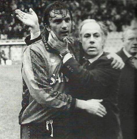 Franco Scoglio e Gianluca Signorini