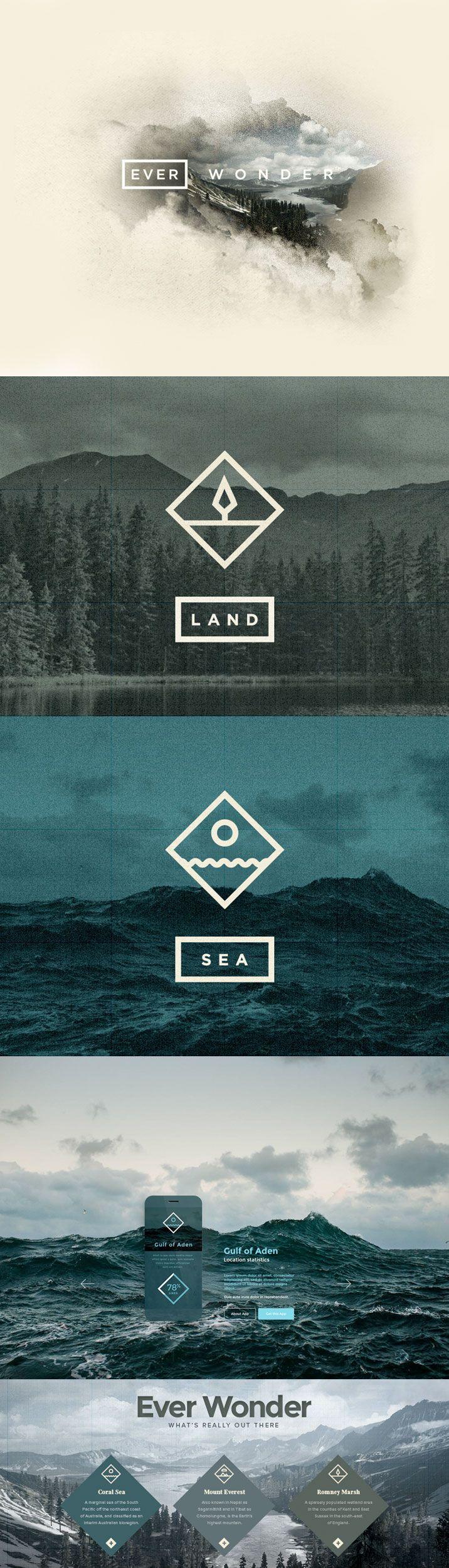 Unique design ideas: Fall in love with this graphic design | www.delightfull.eu/blog #GraphicDesign