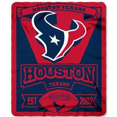 Northwest Co. NFL Texans Marque Throw