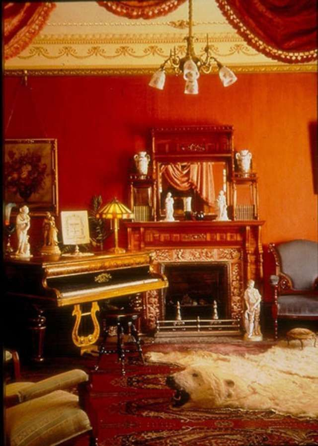 Molly Brown House Museum, front parlor
