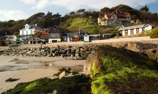 Hidden gem … Steephill Cove beach, Ventnor, Isle of Wight