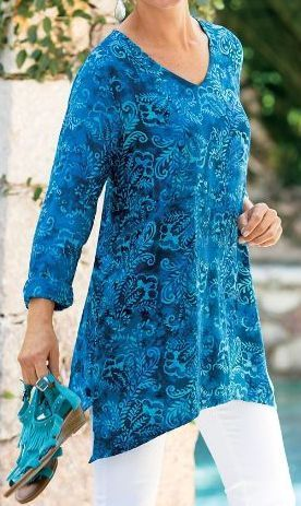 Tunics: The Perfect Fashion For Women Over 50 | ZestNow #women'sfashionover50