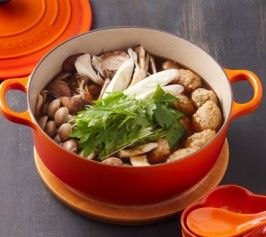 鶏つくね鍋の作り方