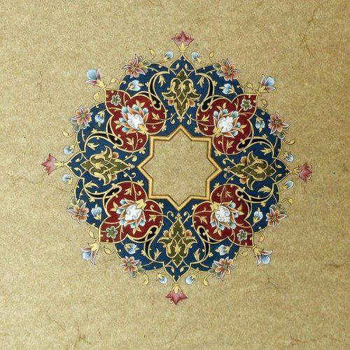 Persian Floral Art