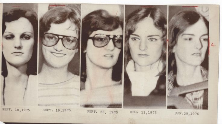 [Symbionese Liberation Army] Wire Photo, The Many Faces of Patty Hearst - SLA, 1976