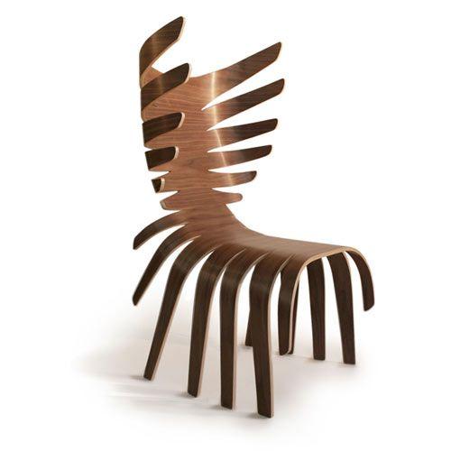 Antonio Pio Saracino   Cervo Chair   Based On Nature And Data Regarding Two  Centuries Of