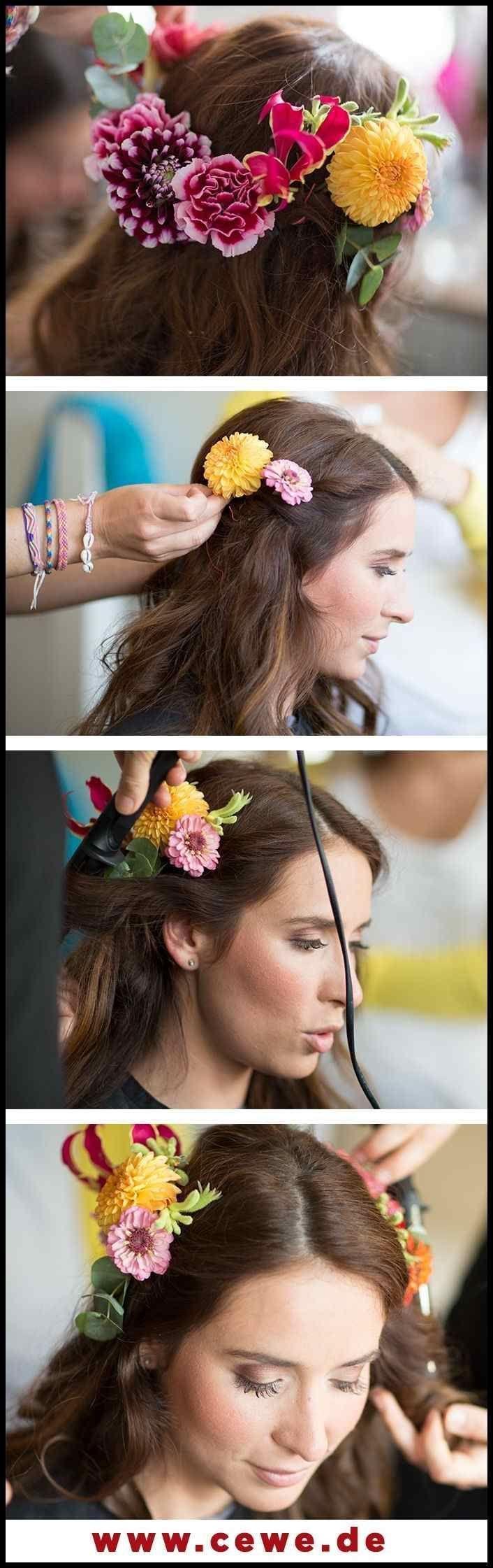Hochzeit: Frisur für mittellanges bis langes Haar … – #Bis #Frisur # für #Haar … – #bis …