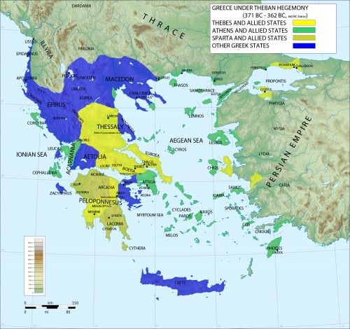 Greece is a country in southeastern Europe, known in Greek as Hellas or Ellada, and consisting of a mainland and an archipelago of islands. Greece is the birthplace of Western philosophy (Socrates, Plato...