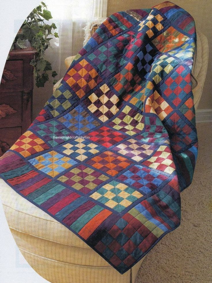 161 best Quilts Made With Solid Fabrics images on Pinterest Amish quilts, Antique quilts and ...
