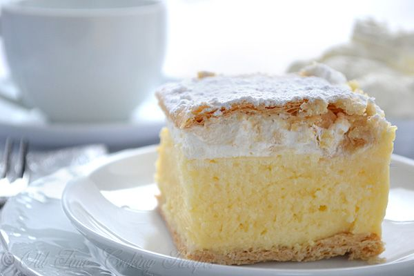 KREMSNITE (Custard Slices Recipe) Croatian Recipe Custard Slices are a well-known Croatian dessert called Kremsnite. They're a delicious combination of custard, puff pastry, and whipped cream that's a wonderful, light dessert at the end of the day. This recipe serves twenty people, so you can easily make it for a party or a potluck. The vanilla custard is also lightly flavored by rum, which provides a richer taste without overwhelming the taste of the dish
