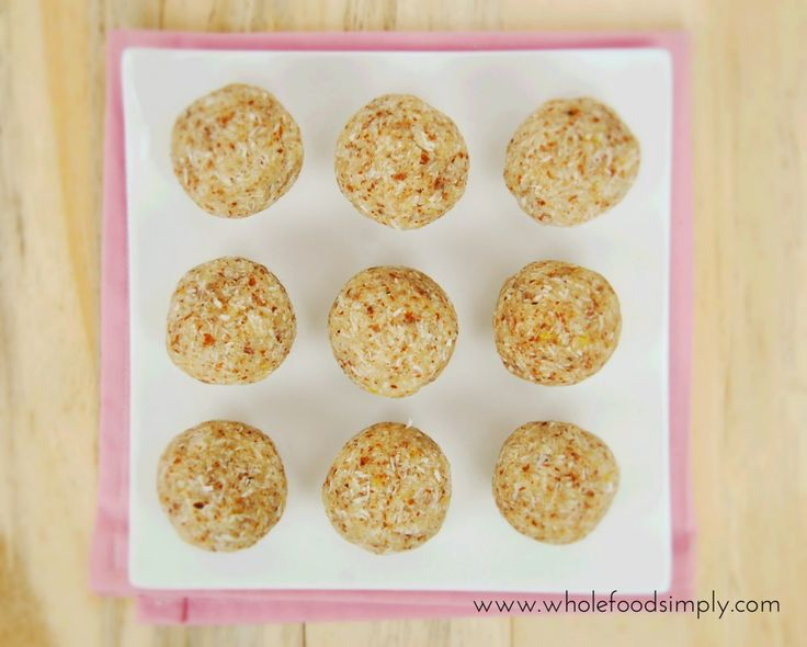 No Blend Lemon Bliss Balls.  Quiff, easy and delicious!  Free from gluten, grains, dairy, eggs and refined sugar. Enjoy!