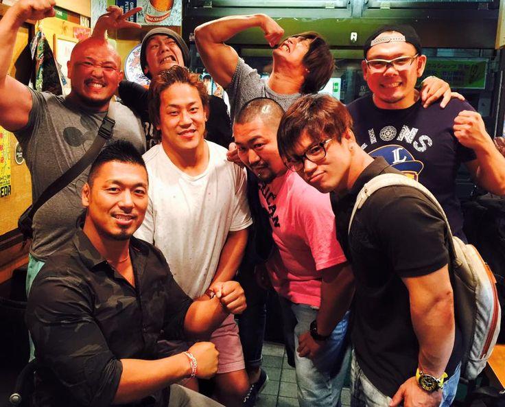 Shingo Takagi and Ishimorii and Kota Ibushi