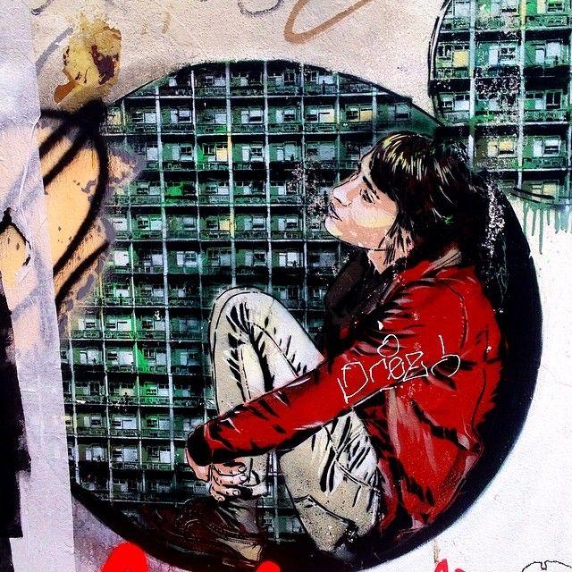 Bubble Girl, New Inn Yard, #Shoreditch #graffiti #streetart #urbanart #instagram