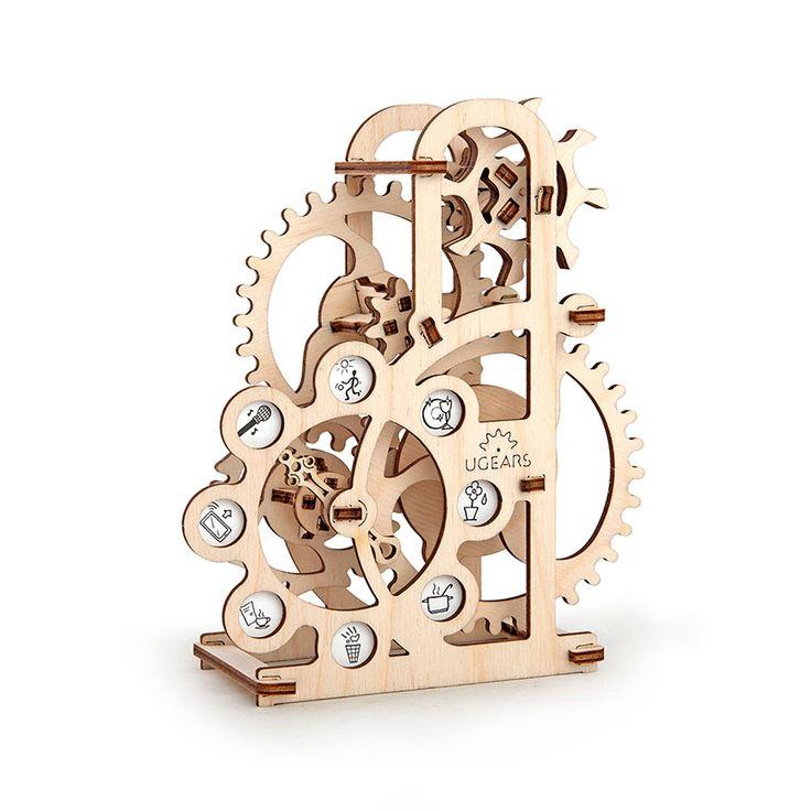 Силомер UGEARS - это механический 3D пазл из дерева. Оригинальный и экологичный конструктор для детей и взрослых.