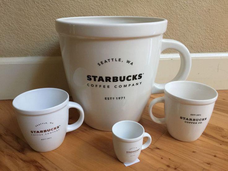 Giant Starbucks Abbey Mug Rare Limited Edition 2016 Sold Out | eBay #giant #starbucks #mugs
