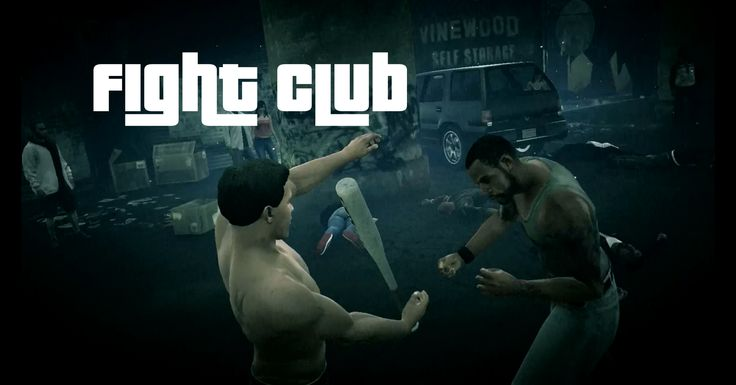 GTA V Meets Fight Club In Arena Mod