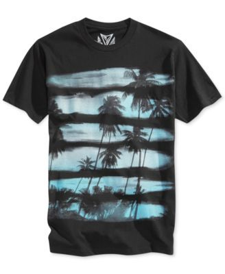 Univibe Sunset Stripe T-Shirt