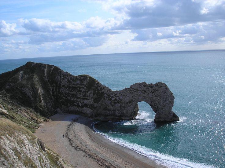 English sea at Dorset