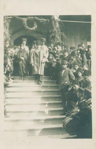Atatürk'ün çok az bilinen fotoğraflarından biri...