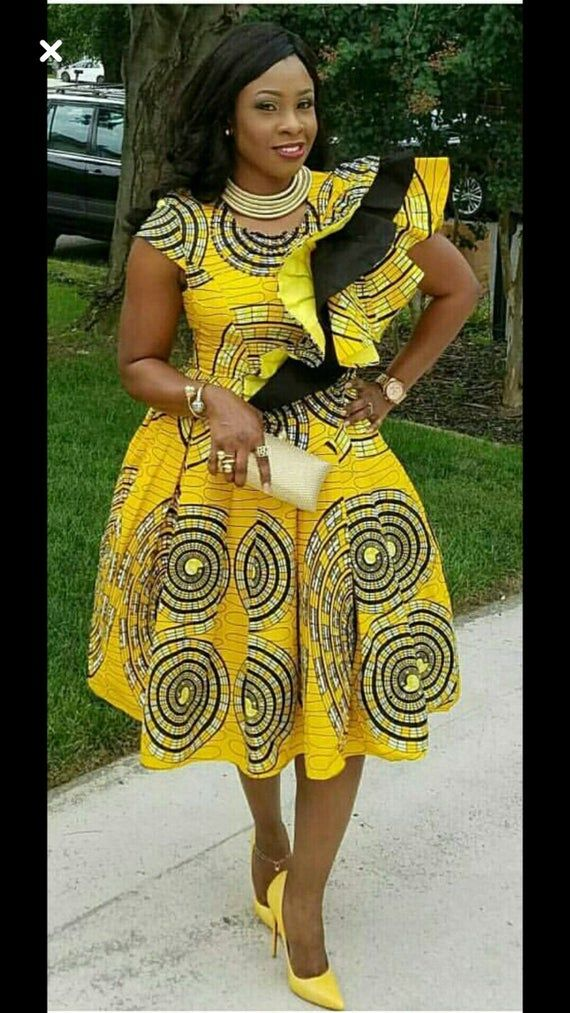 African women clothing for wedding/African print dress for prom/African clothing for women/ Ankara w