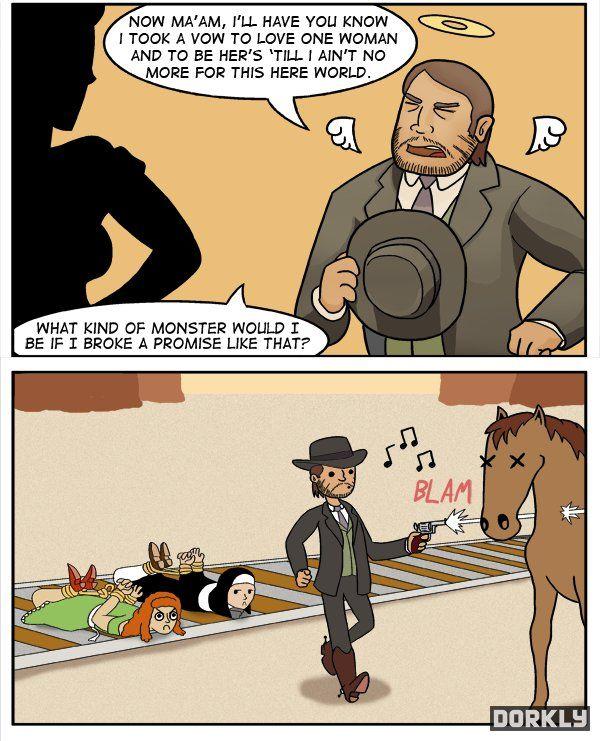 Red Dead Redemption Moral Code pt 2
