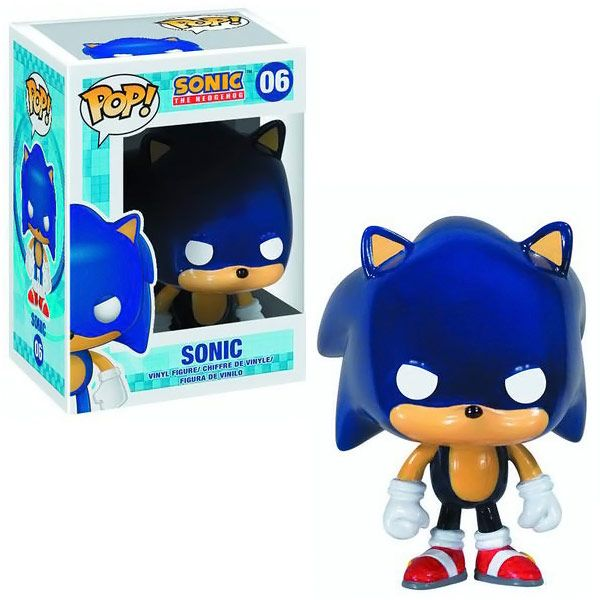 Sonic The Hedgehog Pop! Vinyl Figure but doesn't everyone know? He has one eye but two pupils! Get your specs right Pop!!