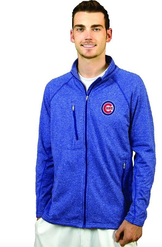 """Chicago Cubs Men's Performance """"Ally"""" Jacket by Antigua"""