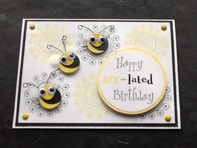 A Belated Birthday Card