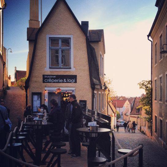Crêperie & logi, Visby, Gotland – Gotlandstips.se #gotland #gotlandstips #sweden #visby #creperie #strykjärnet #Wisby