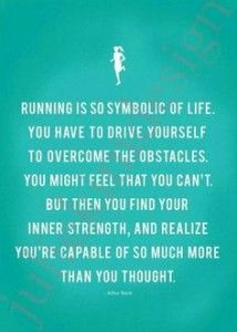 i recently started running and this is so so true. i hated it and now it is the only thing that i can find peace in doing at the end of every day. it clears my mind and resets my thinking. i never thought I would be able to run period let alone enjoy it!