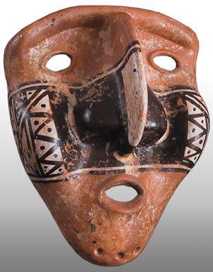 Precolombino - Máscara Tolima reproduccion
