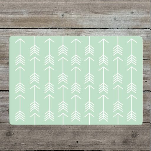 Mint Arrow Rug Nursery Woodland Modern Kids Room Decor
