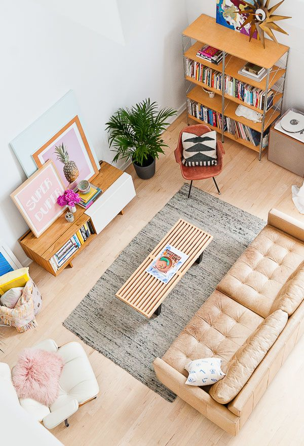 Eclectic modern living room inspiration