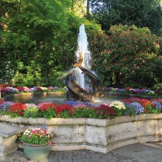 jardines flores viajes de vacaciones vacaciones puertas de jardn las del agua fotos de viajes columbia britnica fuente