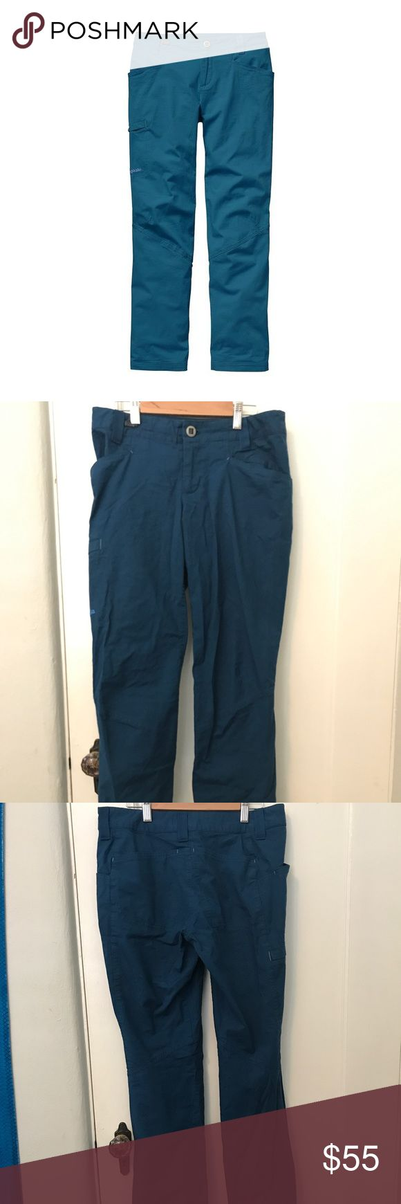 Patagonia Women's Venga Rock Climbing Pants Patagonia Women's Venga rock pants. Size 4. Retail for $79. Big Sur Blue color sold out on Patagonia. Worn only once, I just needed a different size. Patagonia Pants