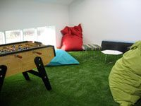 Space Design and Management artificial grass installation