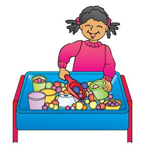 Image result for sensory table clipart