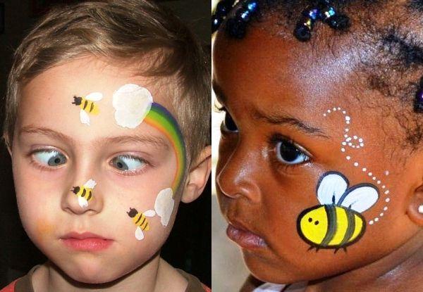 As mais lindas maquiagens de Carnaval para crianças! Você vai adorar essas ideias, que podem ser reproduzidas aí na sua casa!