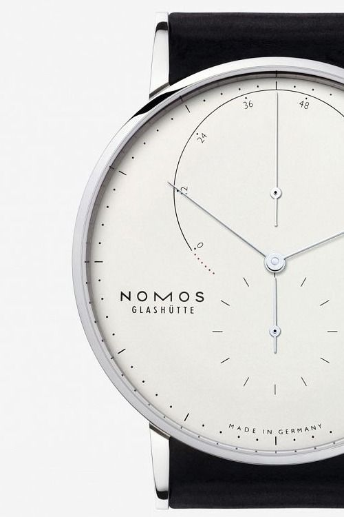 Nomos Glashütte, model: Lambda Weißgold source classy-captain