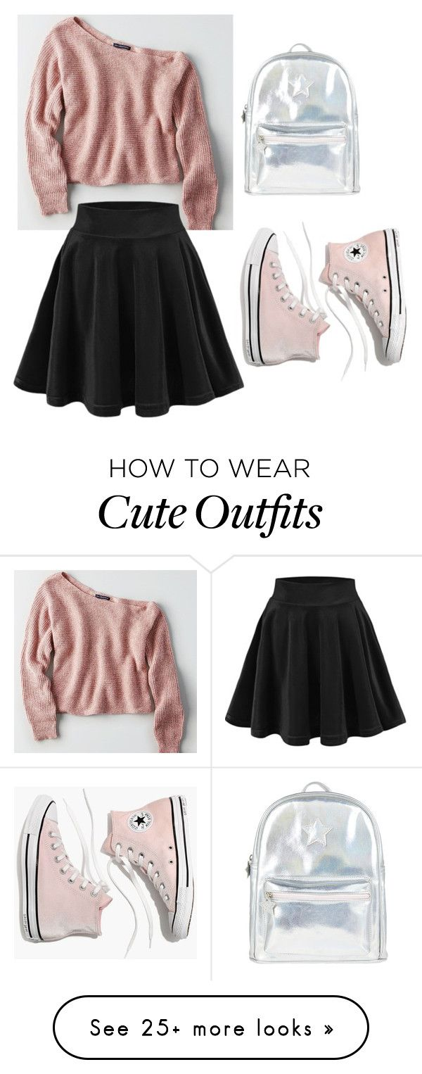 """Cute outfit #4"" by gaby9901 on Polyvore featuring American Eagle Outfitters, Madewell and Accessorize"
